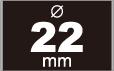 缶バッジ 22mm