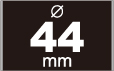 缶バッジ 44mm