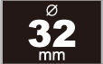 缶バッジ 32mm